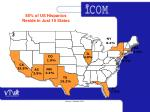 85 of us hispanics reside in just 10 states