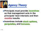 agency theory1