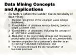 data mining concepts and applications