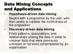 data mining concepts and applications10
