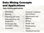 data mining concepts and applications11