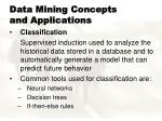 data mining concepts and applications6