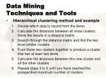 data mining techniques and tools8