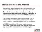 backup questions and answers1