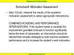 schoolwork motivation assessment8