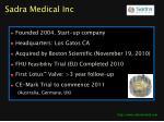 sadra medical inc