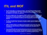itil and mof