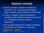 saatyho metoda1