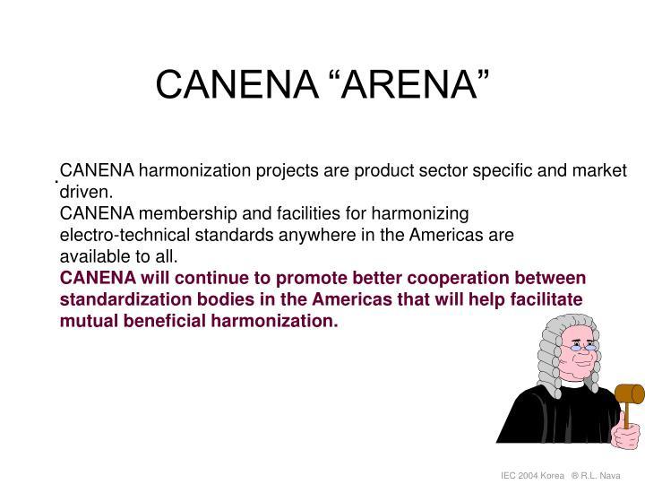 Canena arena