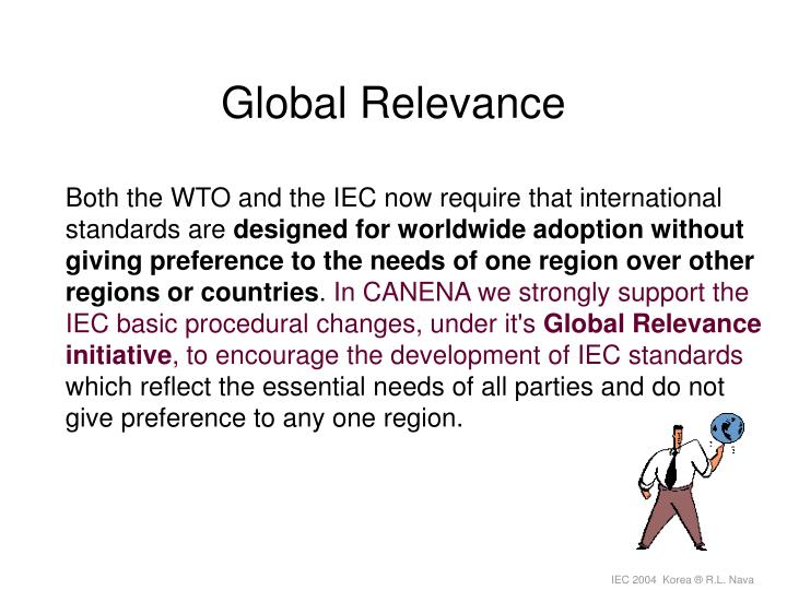 Global Relevance
