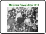 mexican revolution 1917