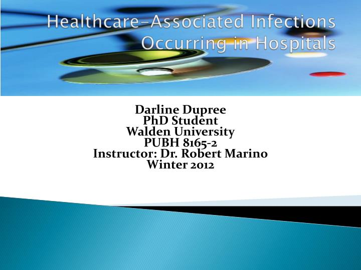 healthcare associated i nfections o ccurring in hospitals n.