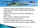 preventing central line associated bloodstream infection