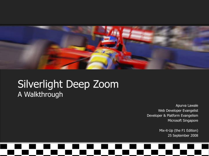 silverlight deep zoom a walkthrough n.