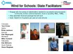 wind for schools state facilitators