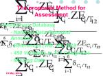 the proposed method for assessment1