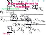 the proposed method for assessment3