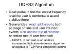 udfs2 algorithm