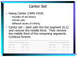 cantor set