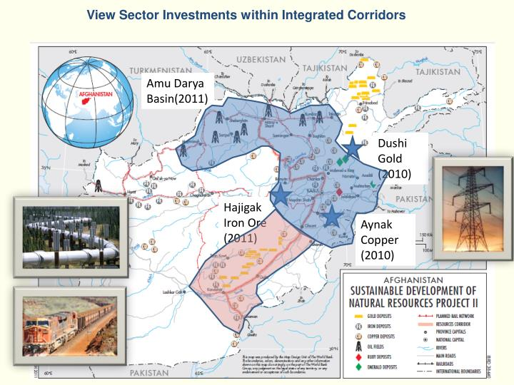 View Sector Investments within Integrated Corridors