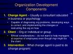 organization development components