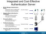 integrated and cost effective authentication server