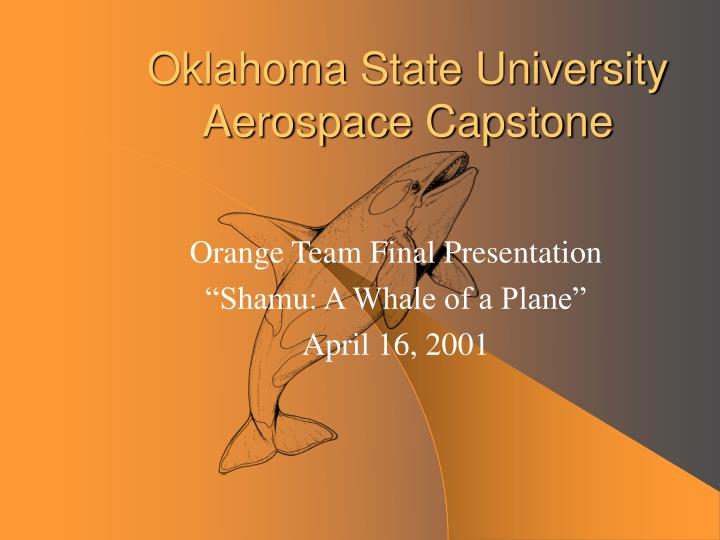 oklahoma state university aerospace capstone n.