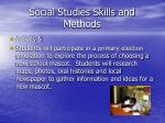 social studies skills and methods2