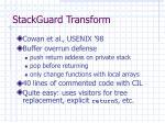 stackguard transform