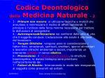 codice deontologico della medicina naturale 2