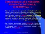 introduzione alla medicina biologico naturale alternativa 1