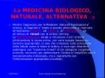 la medicina biologico naturale alternativa 2