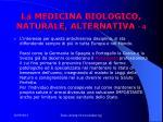 la medicina biologico naturale alternativa 4