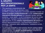 il gruppo multiprofessionale per la sinpia
