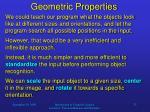 geometric properties1