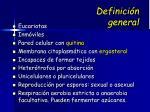 definici n general