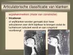 articulatorische classificatie van klanken11