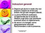 indicazioni generali1