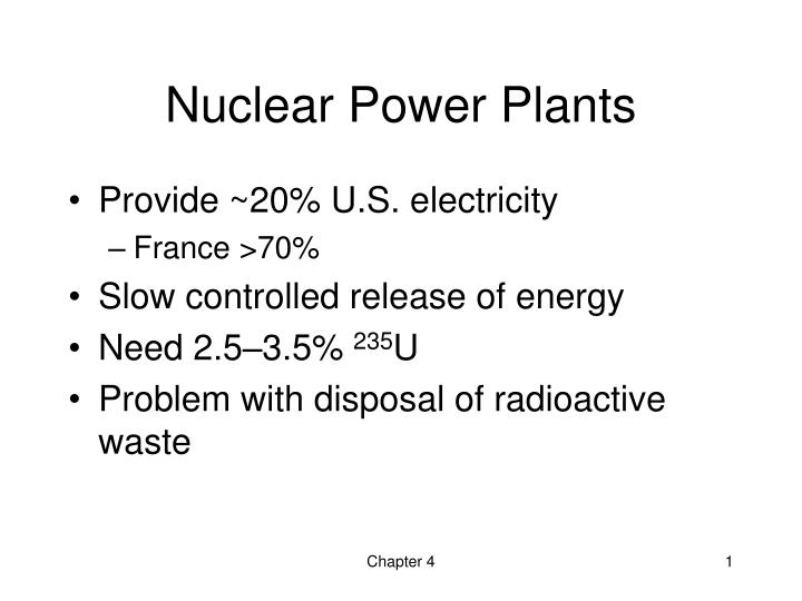 nuclear power plants n.
