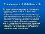 the elements of metatheory 3