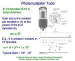 photomultiplier tube