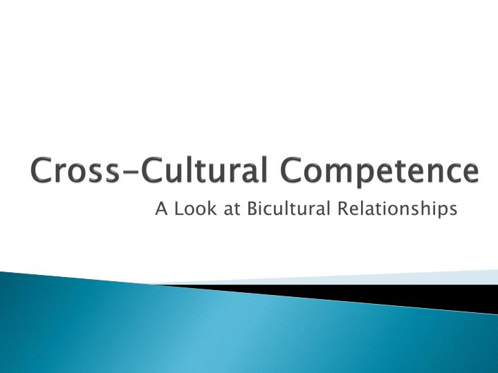 cross cultural competence n.