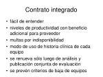 contrato integrado