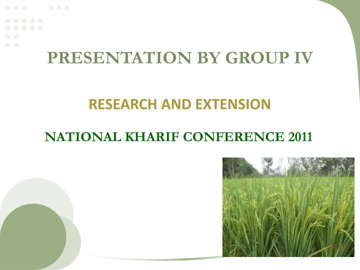 presentation by group iv n.