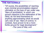 the rationale3