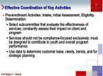 effective coordination of key activities1