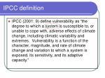 ipcc definition