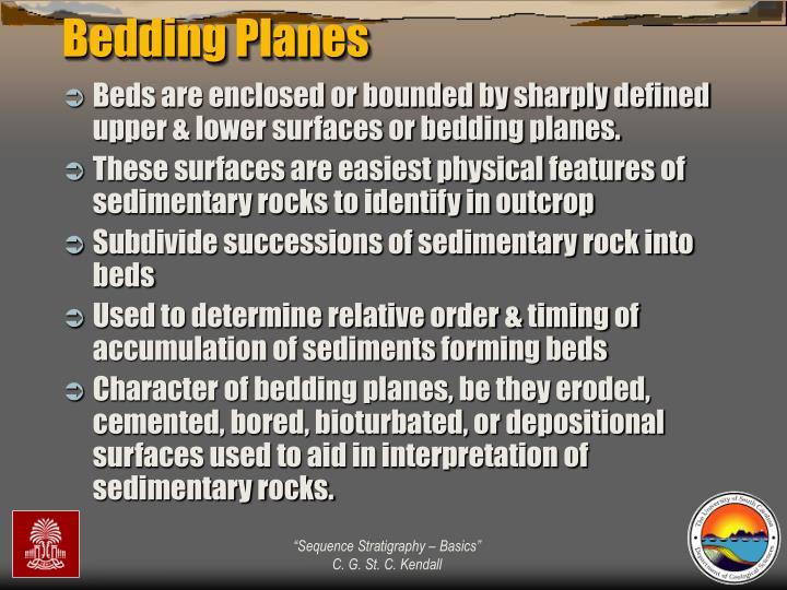 Bedding Planes