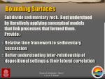 bounding surfaces