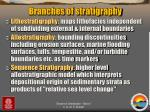 branches of stratigraphy1